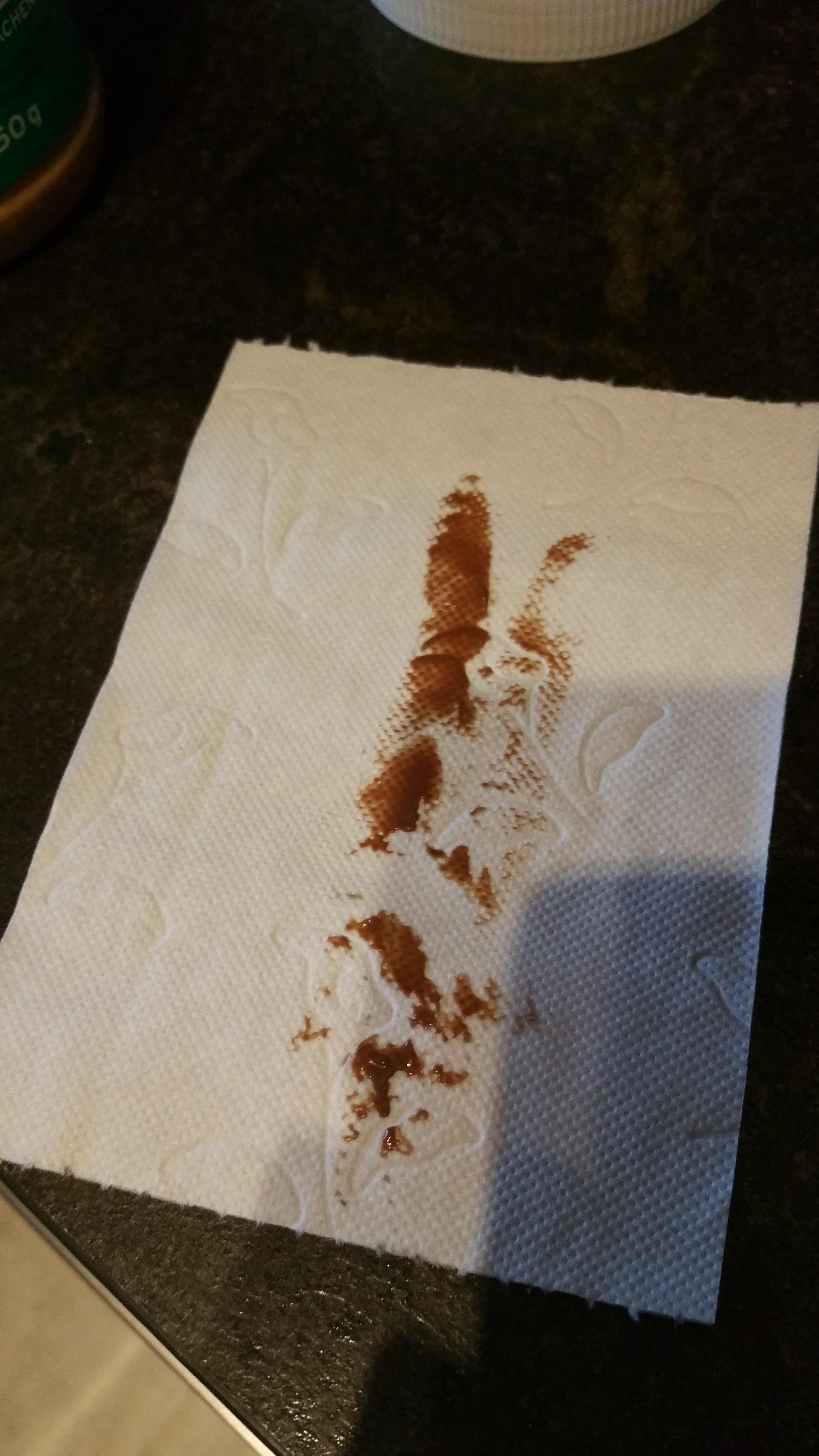 klopapier mit nutella
