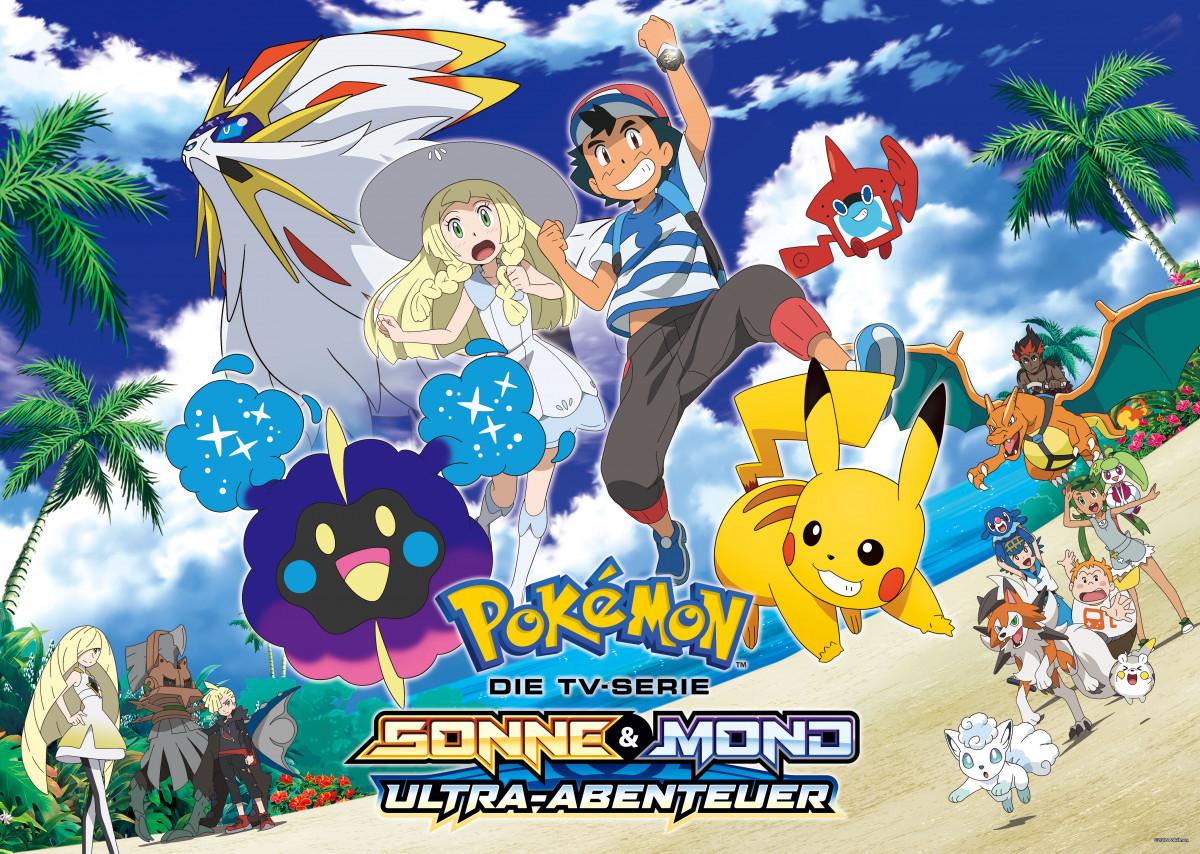 Pokemon Sonne Und Mond Anime