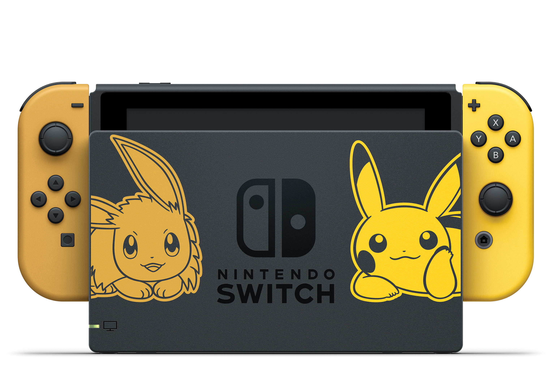 Spezielles Nintendo Switch Bundle Zu Pokemon Let S Go Pikachu